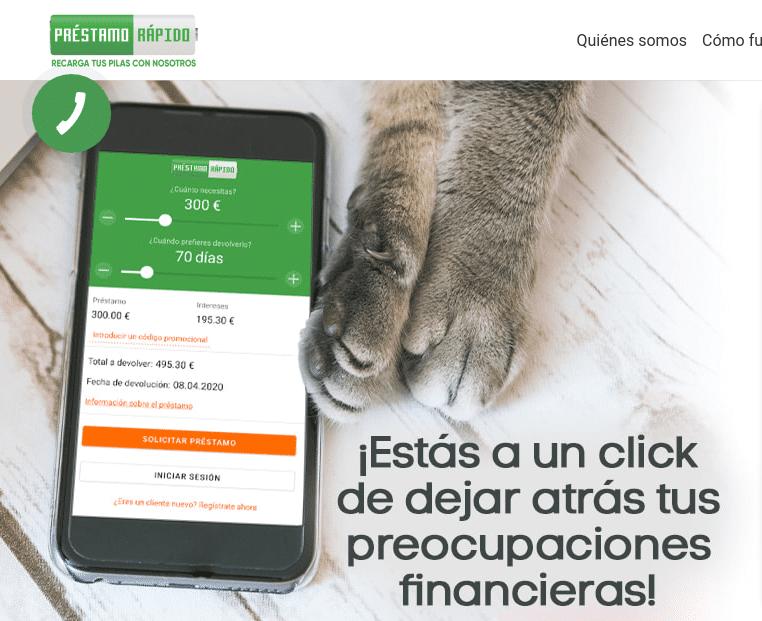 Cómo solicitar préstamos online con Prestamorapido